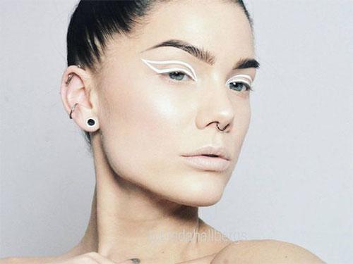 12-Inspiring-White-Eyeliner-Looks-Ideas-2016-3