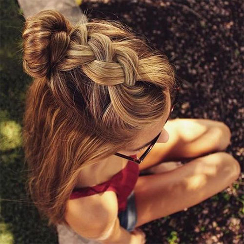 15-Easy-Summer-Hairstyle-Bun-2016-10