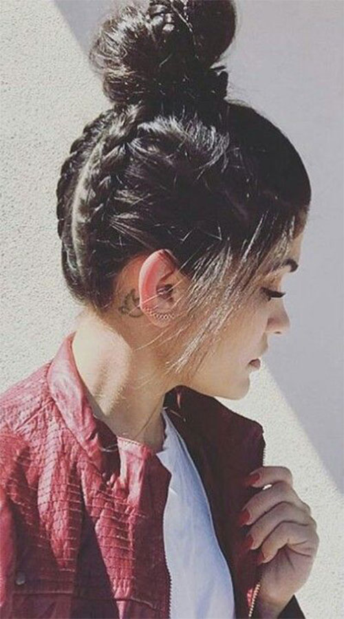 15 Easy Summer Hairstyle Bun 2016 Modern Fashion Blog