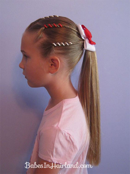 20+ 4th of July Hairstyles For Kids & Girls 2016 | Fourth of July ...
