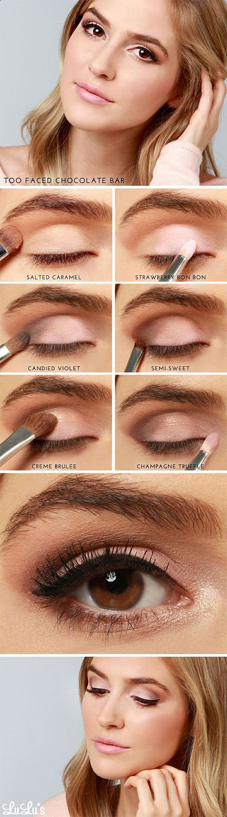 10-Step-By-Step-Summer-Makeup-Tutorials-For-Beginners-2016-6