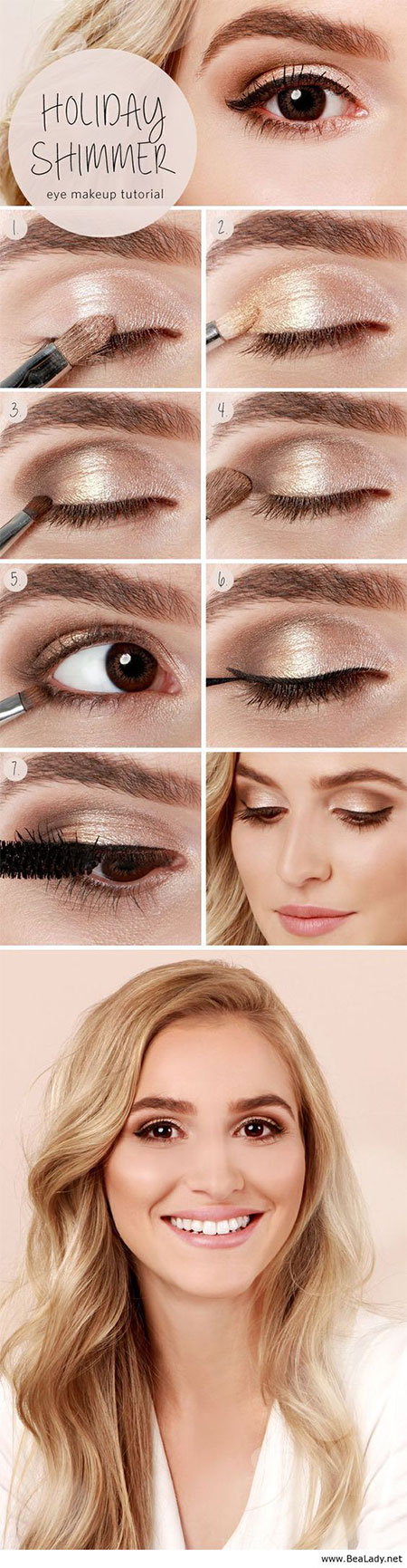 10-Step-By-Step-Summer-Makeup-Tutorials-For-Beginners-2016-7