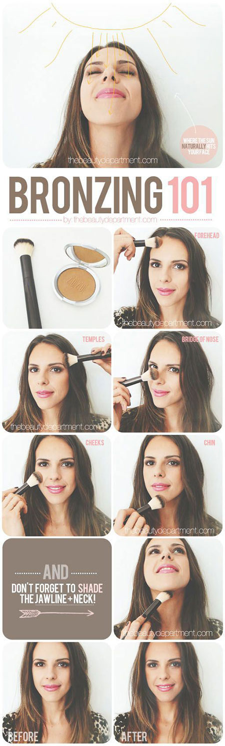 10-Step-By-Step-Summer-Makeup-Tutorials-For-Beginners-2016-8