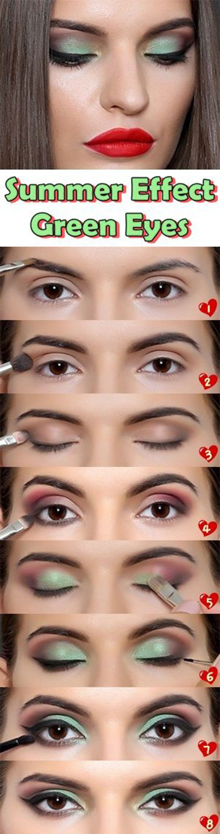 10-Step-By-Step-Summer-Makeup-Tutorials-For-Beginners-2016-9