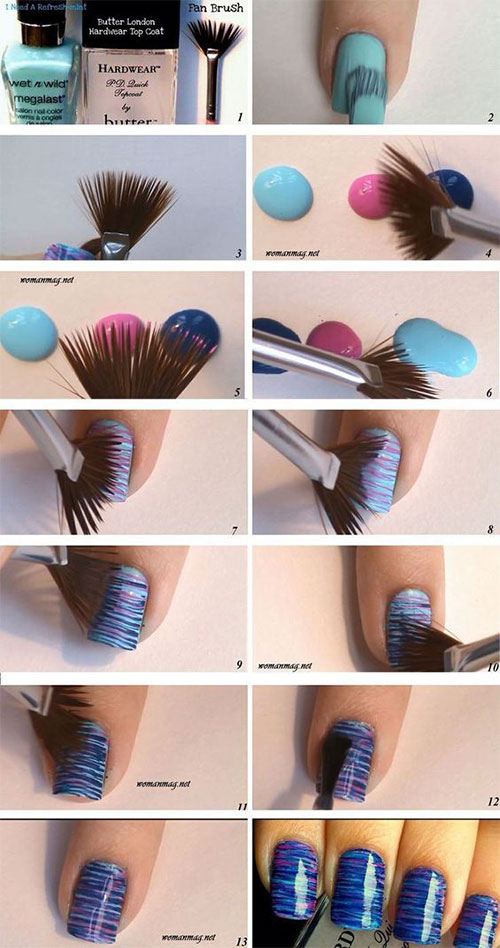 12-Easy-Summer-Nail-Art-Tutorials-For-Learners-2016-7