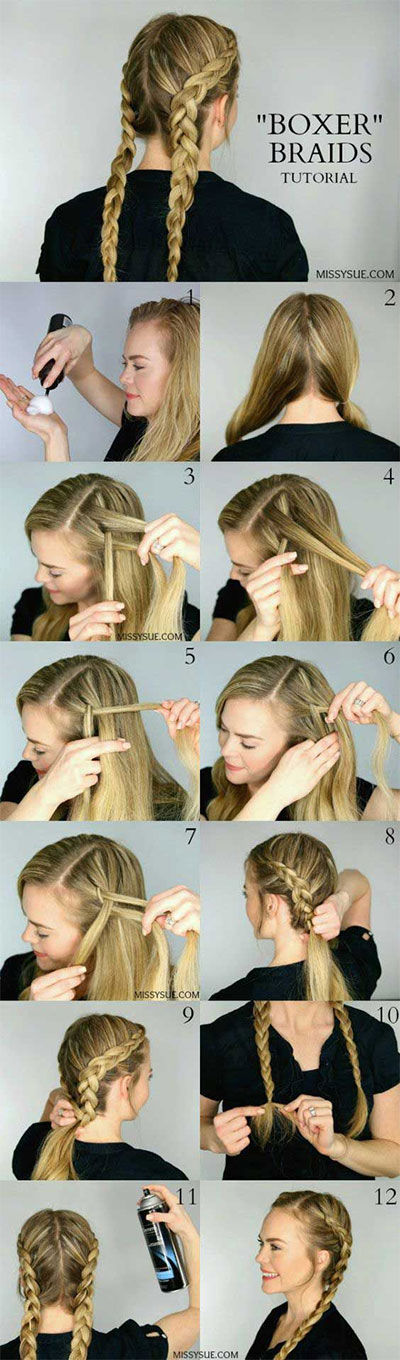 12-Step-By-Step-Summer-Hairstyle-Braids-Tutorials-2016-4