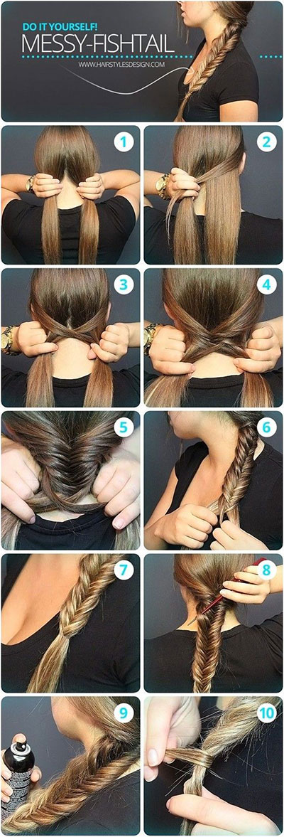 12-Step-By-Step-Summer-Hairstyle-Braids-Tutorials-2016-6