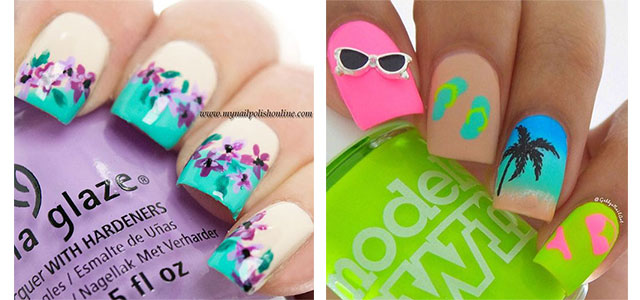 Nail art is going to be another hit trend adopted by girls and followed by  celebrities. It is nothing new to us because anything that is publicized  and ... - 20+ Best Summer Nail Art Designs & Ideas 2016 Modern Fashion Blog