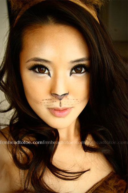 10-simple-easy-halloween-face-makeup-ideas-for-girls-2016-1