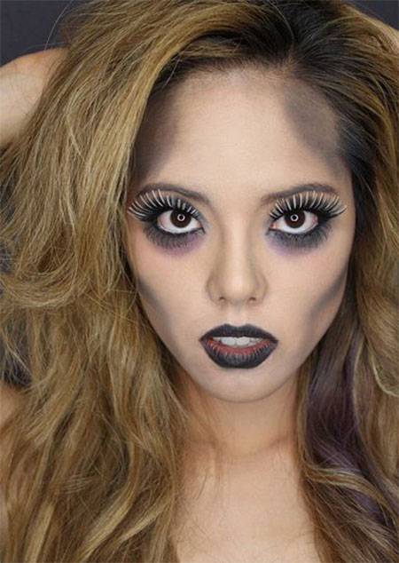 10-simple-easy-halloween-face-makeup-ideas-for-girls-2016-3