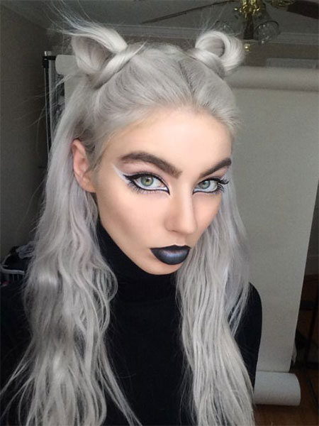 10 Simple Easy Halloween Face Makeup Ideas For Girls 2016 Modern - Halloween-face-makeup