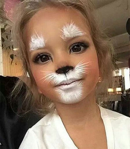 15 Cool Halloween Makeup Ideas For Kids 2016 | Modern Fashion Blog