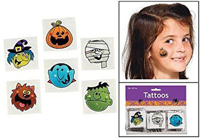 15-cool-small-fake-halloween-themed-tattoo-ideas-for-kids-women-2016-14