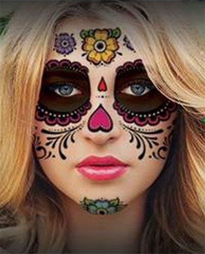 15-cool-small-fake-halloween-themed-tattoo-ideas-for-kids-women-2016-16