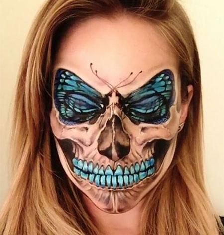 15-scary-halloween-mouth-teeth-half-face-makeup-looks-ideas-2016-14