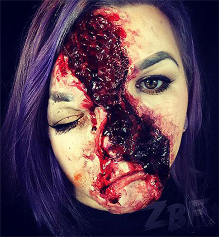 15-scary-halloween-mouth-teeth-half-face-makeup-looks-ideas-2016-15