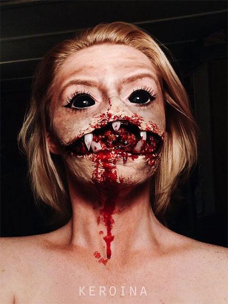 15-scary-halloween-mouth-teeth-half-face-makeup-looks-ideas-2016-16