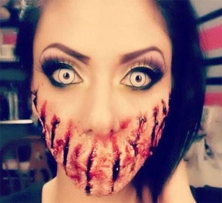 15-scary-halloween-mouth-teeth-half-face-makeup-looks-ideas-2016-17