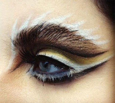 15 spooky halloween eye makeup ideas amp looks 2016