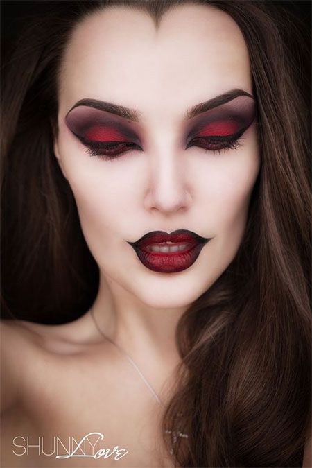 15 witch halloween make up looks ideas 2016 modern. Black Bedroom Furniture Sets. Home Design Ideas