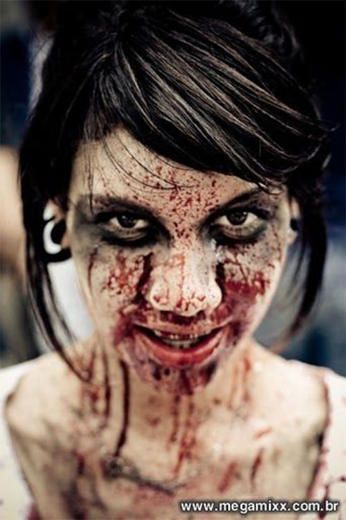 20+ Very Scary Halloween Zombie Face Makeup Ideas & Looks ...