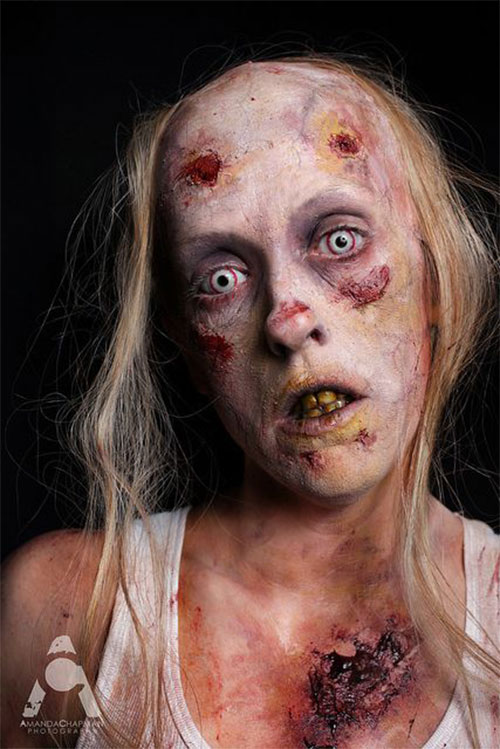 20+ Very Scary Halloween Zombie Face Makeup Ideas U0026 Looks 2016 | Modern Fashion Blog