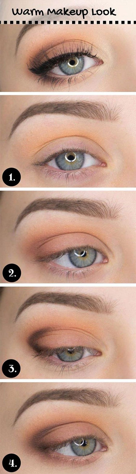10 Step By Step Fall Makeup Tutorials For Learners 2016 Modern Fashion Blog