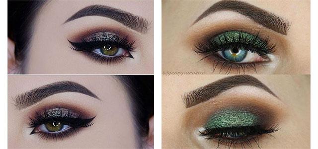 15 Inspiring Fall / Autumn Eye Makeup