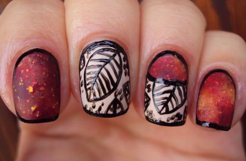25-best-autumn-nails-art-designs-ideas-2016-19