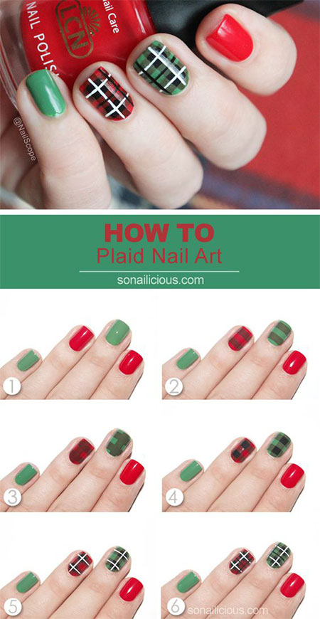 10-step-by-step-christmas-nails-art-tutorials-for-learners-2016-3