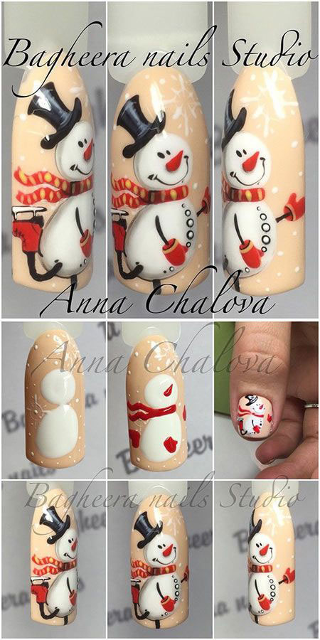 10-step-by-step-christmas-nails-art-tutorials-for-learners-2016-9