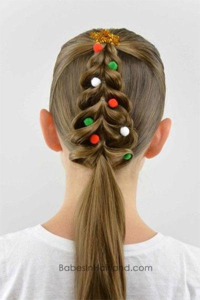 15-simple-christmas-themed-hairstyle-ideas-for-short-long-hair-2016-1