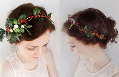 15-simple-christmas-themed-hairstyle-ideas-for-short-long-hair-2016-16