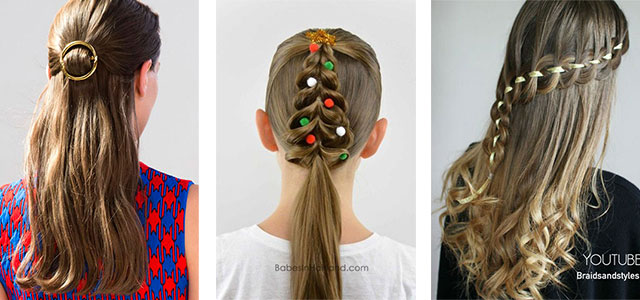 15 simple christmas themed hairstyle ideas for short long hair when you are happy you can conquer the world just be confident about yourself feel easy wherever you go walk with humblest attitude be kind to others solutioingenieria Choice Image