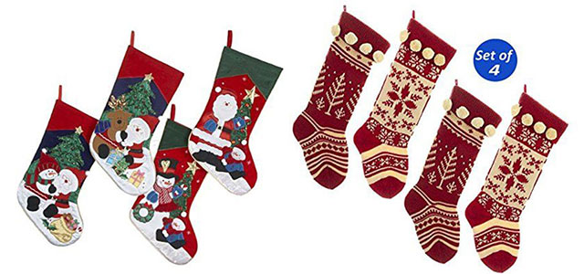 cover yourselves because winter is finally here every now and then there will be rainfalls snow fall hailing and cold breezes that will make your skin - Embroidered Stockings Christmas
