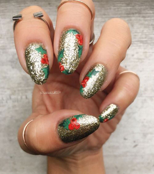 Xmas nail art pictures best nails 2018 20 best christmas nail art designs ideas 2016 xmas nails prinsesfo Images