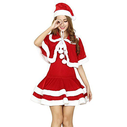 97de42f62f0 30 Cute Santa Costumes & Outfits For Babies, Kids, Men & Women 2016 ...