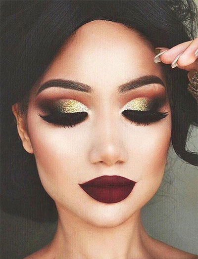 12-christmas-themed-makeup-looks-trends-for-women-2016-2
