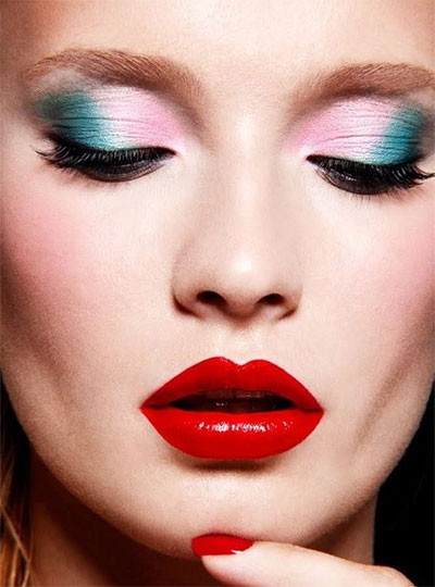 12-christmas-themed-makeup-looks-trends-for-women-2016-4