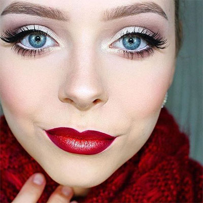 12-christmas-themed-makeup-looks-trends-for-women-2016-5