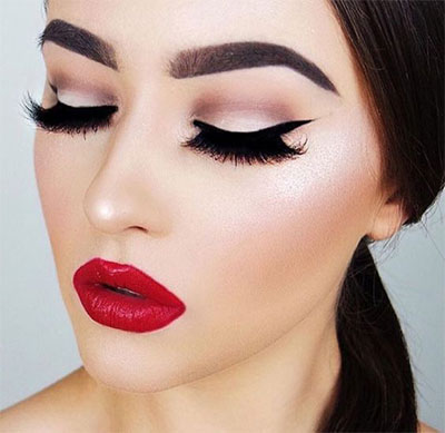 12-christmas-themed-makeup-looks-trends-for-women-2016-6