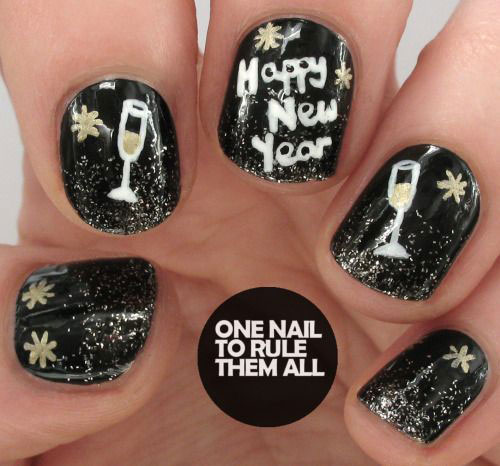 15-inspiring-happy-new-year-eve-nail-art-designs-ideas-2016-1