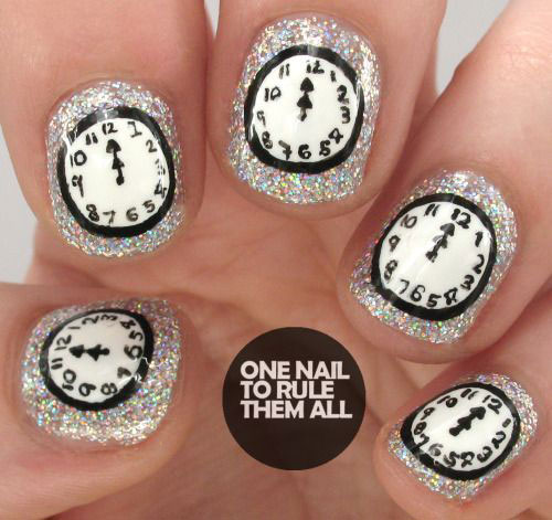 15-inspiring-happy-new-year-eve-nail-art-designs-ideas-2016-3