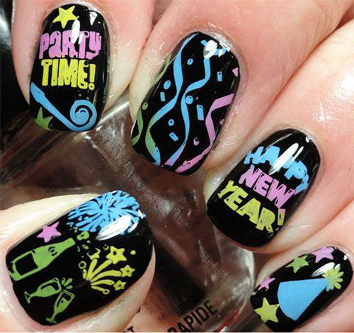 15-inspiring-happy-new-year-eve-nail-art-designs-ideas-2016-6