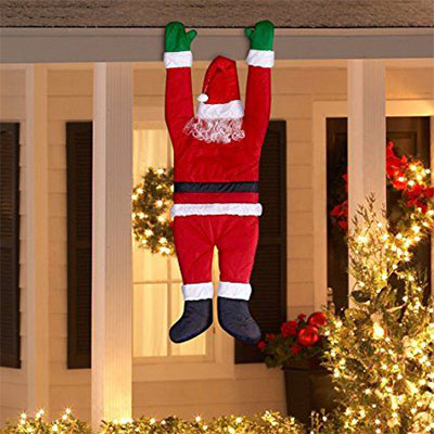 25 cheap unique christmas indoor outdoor decorations for Outside xmas decorations