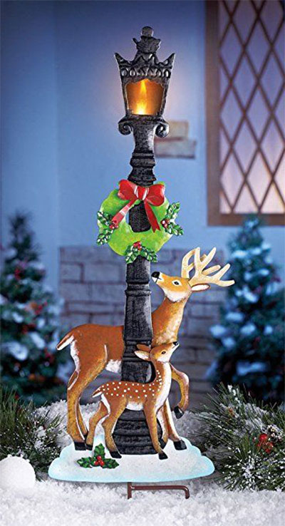 25+ Cheap, Unique Christmas Indoor & Outdoor Decorations ... on Unique Yard Decorations id=18643