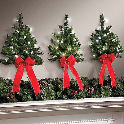 25 cheap unique christmas indoor outdoor decorations for Cheap xmas decorations