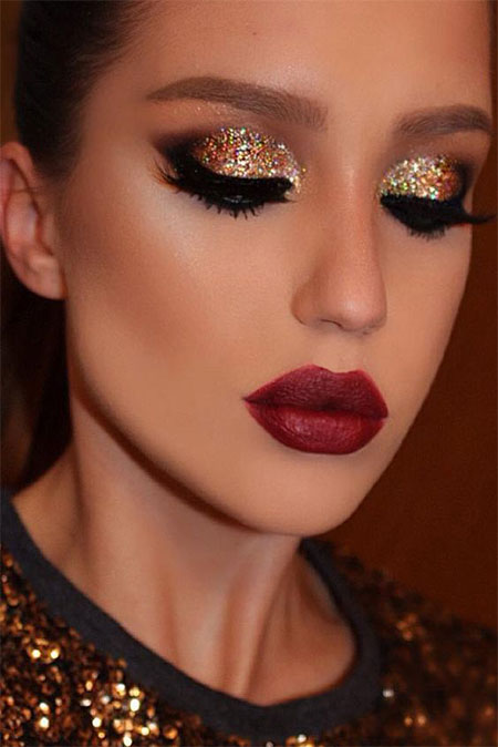 Christmas Party Makeup Ideas For Girls U0026 Women 2016 | Modern Fashion Blog