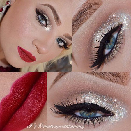 christmas-party-makeup-ideas-for-girls-women-2016-9