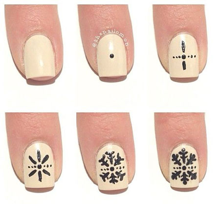 10-Easy-Simple-Winter-Nails-Art-Tutorials-For-Beginners-2017-1